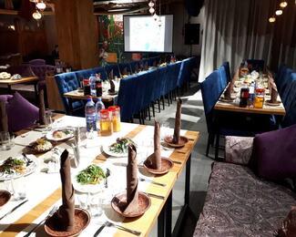 Специальные цены на корпоративы в будние дни в ресторане Babur!