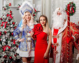 Новогодний корпоратив с Ксенией Готовской