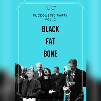 Первый концерт Black Fat Bone в новом году