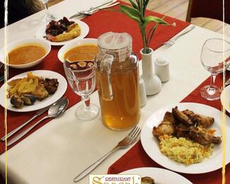 За вкусным и сытным бизнес-ланчем в ресторан Sancak