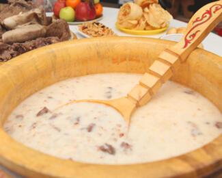 Отмечаем Наурыз на летней террасе ресторана «Якорь»
