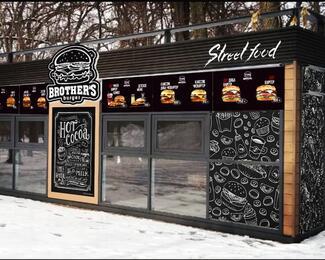 Открытие нового филиала Brother's burger