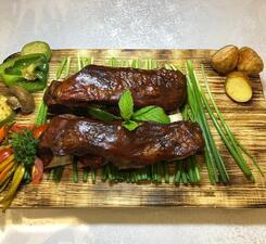 Рёбра барбекю говяжьи