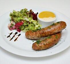 Колбаски Мюнхенские белые
