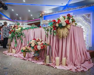 Идеальный банкетный зал для свадьбы