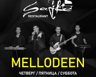 Группа Mellodeen с живым выступлением в ресторане Sadre!