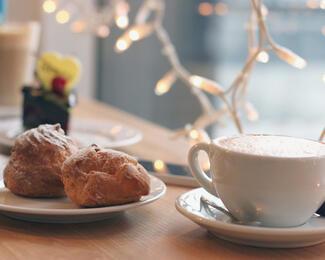 Безлимит на кофе в Double Coffee