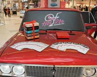 HOT2BE «Караоке на колесах дарит 10 000 бонусов»
