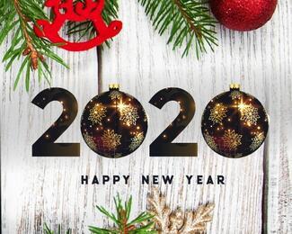 Новогодние корпоративы в ресторане VERSAL 777