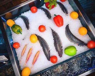 Живое меню в Ziyafet Fish House
