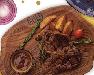 Доставка блюд по меню от кафе Gold