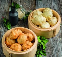 Китайские манты на пару или жареные