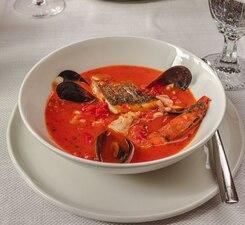 Суп сицилийский томатный